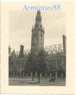 Belgique - Leuven - Louvain, Sous L'occupation Allemande - Bibliothèque De L'Université - Wehrmacht - Guerre, Militaire