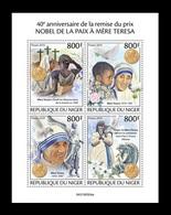 Niger 2019 Mih. 6779/82 Mother Teresa And Nobel Peace Prize MNH ** - Niger (1960-...)