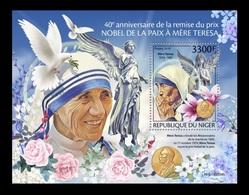 Niger 2019 Mih. 6783 (Bl.1051) Mother Teresa And Nobel Peace Prize MNH ** - Niger (1960-...)