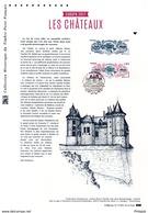 """"""" EUROPA 2017 : LES CHATEAUX """" Sur Document Philatélique Officiel De 2017. N° YT 5143. Parfait état. DPO - 2017"""