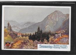 AK 0380  Semmering - Ausblick Vom Hotel Erzherzog Johann / Deutscher Schulverein Um 1920 - Semmering