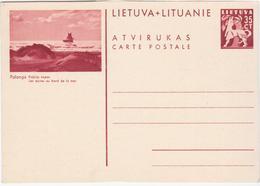Lithuania Lietuva Lituanie, Palanga Pajurio Kopos, Les Dunes Au Bord De La Mer - Litauen