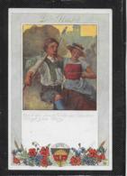 AK 0380  Die Glocke Nr. 8  - Deutscher Schulverein Um 1917 - Musik Und Musikanten