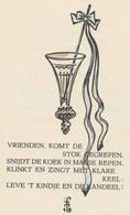 Geboortekaart Mariette Schohten Mandos - Frans Mandos - Geburt & Taufe