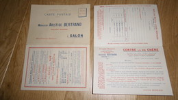 13 SALON - Carte Postale Publicitaire De 1916 à 2 Volets De La M. Aristide Bertrand Huilerie Moderne - Alimentaire