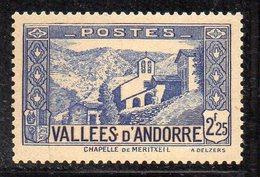 XP5020 - ANDORRA 1932,  Unificato N. 84 *  Linguella  (2380A) . - Neufs