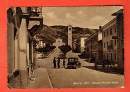 KAK-28  Foza Stazione Climatica Alpina  Old Car, Attelage, ANIME. Circulé 1956,timbre Manque Grand Format - Altre Città