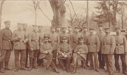 AK Foto Gruppe Deutsche Soldaten - Feldpost Mergentheim 1916 (45475) - Weltkrieg 1914-18