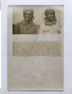 Foto Ak Soldats Francais 2 Soldats 7 Spahis Spahi Ambulance No 24 Medicin 1916 - Weltkrieg 1914-18