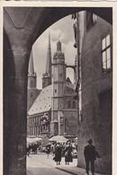 AK Halle A. S. - St. Marien - Feldpost II./Nachrichten-Lehr-Regiment - 1940 (45477) - Halle (Saale)