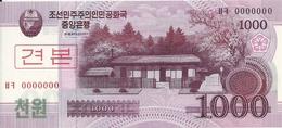 COREE DU NORD 1000 WON 2008 UNC P 64 S - Korea (Nord-)