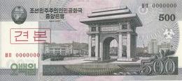 COREE DU NORD 500 WON 2008 UNC P 63 S - Korea (Nord-)