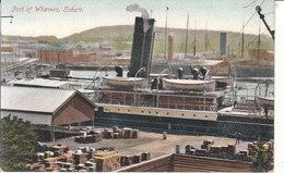 Hobart - Part Of Wharves - Hobart