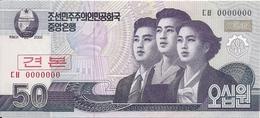 COREE DU NORD 50 WON 2002 UNC P 60 S - Korea (Nord-)