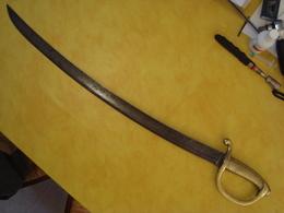 Sabre Briquet Sans Marquage - Knives/Swords