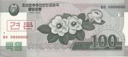 COREE DU NORD 100 WON 2008 AUNC P 61 S - Korea (Nord-)