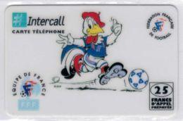 INTERCALL  - Footix - 25 Francs - Tirage : Limité - Code Non Gratté - Voir Scans - Frankrijk