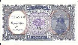EGYPTE 10 PIASTRES  UNC P 189 - Egypt