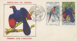 Enveloppe  FDC  1er  Jour   SENEGAL   Oiseaux   1961 - Senegal (1960-...)