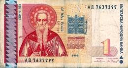 BANCONOTA  Da  1  L E V    Bulgaria   /  Anno  1999. - Bulgaria