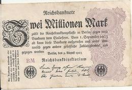 ALLEMAGNE 2 MILLIONEN MARK 1923 VF P 103 - [ 3] 1918-1933 : Repubblica  Di Weimar