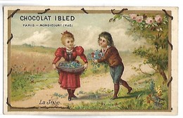 CHROMO - CHOCOLAT IBLED - La Joie - Ibled