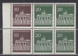 BRD Heftchenblatt 18, Postfrisch **, Brandenburger Tor 1968 - [7] República Federal