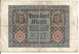 ALLEMAGNE 100 MARK 1920 VF P 69 - [ 3] 1918-1933: Weimarrepubliek