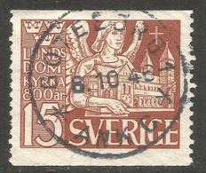 SWEDEN. 15o LUND CHURCH USED GOTEBORG - Sweden