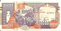 SOMALIE 1000 SHILLINGS 1990-2000 AUNC P R10 - Somalia