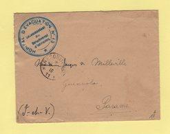 Hopital D Evacuation N°13 - Tresor Et Postes 11 - Detachement D Infirmiers - 6-6-1916 - Guerra De 1914-18
