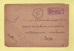 Recommande Secteur 11 - Tresor Et Postes 11 - Ambulance - 25-6-1916 - Guerra De 1914-18