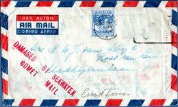 Havilland Comet Plane Crash Cover 1954, Jan 10 Letter Singapore - (London) - Netherlands - BOAC Flight 781 -  1912.0816 - Vliegtuigen