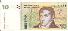 ARGENTINE 10 PESOS ND XF+ P 354 - Argentinië