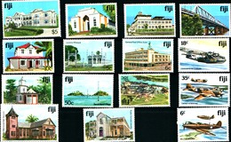 92285) LOTTO DI FRANCOBOLLI DELLE ISOLE FIJI -MNH** - Fiji (1970-...)