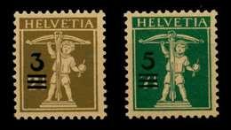 SCHWEIZ 1930 Nr 239-240 Postfrisch X73F356 - Zwitserland