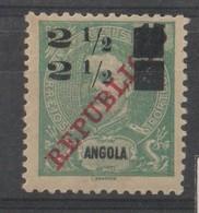 ANGOLA CE AFINSA 113 - SOBRETAXA DUPLA (NÃO CATALOGADO) - Angola