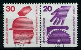 BERLIN ZUSAMMENDRUCK Nr W60 Gestempelt WAAGR PAAR X7846F6 - [5] Berlino