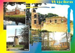 Netherlands Wijchen Hernen Batenburg Leur Muhle Mill Castle Ruins Eglise - Pays-Bas
