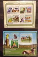 Guinea Bissau - Birds Parrots Animals On Postage Stamps Perf.  MNH** F115 - Parrots