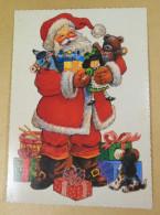 Postcard Ukraine 1995. Happy New Year! - Año Nuevo