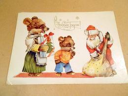 Postcard USSR 1985. Happy New Year! Author Yu. Yasyukevich - Año Nuevo