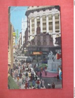 > Argentina  Buenos Aires  Florida Street      Has Stamp & Cancel      Ref 3760 - Argentinië