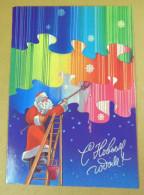 Postcard USSR 1985. Happy New Year! Author A. Lyubesnov - Año Nuevo
