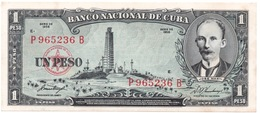 1 PESOS 1958 BANCO NACIONAL SIN CIRCULAR - Cuba