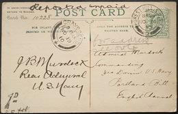 Autograph Of Admiral Murdock Comander Of 3rd Division U.S.Navy - United Kingdom
