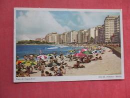 Brazil > Rio De Janeiro    Has Stamp & Cancel      Ref 3761 - Rio De Janeiro