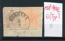 Österreich- Nr. 3+4  Stempel-Type ?  O   (ed9042  ) Siehe Scan - 1850-1918 Imperium