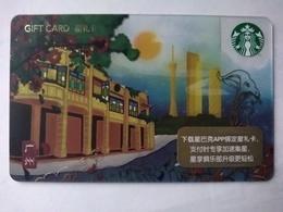 China Gift Cards, Starbucks, 200 RMB, Guangzhou, 2018 ,(1pcs) - Gift Cards