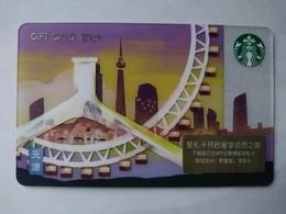 China Gift Cards, Starbucks, 200 RMB, Tianjin , 2018 ,(1pcs) - Gift Cards
